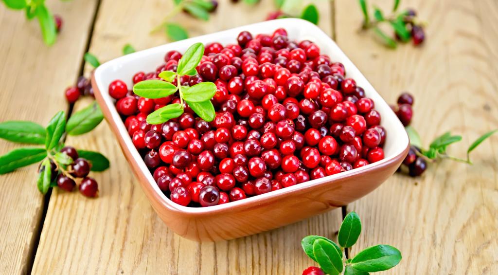 Beneficios del arándno rojo
