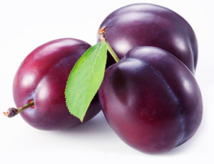 Fruta morada