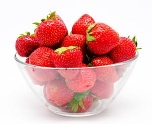 Bowl de fresas
