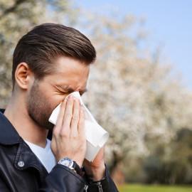Allergie, Mann, Frhling