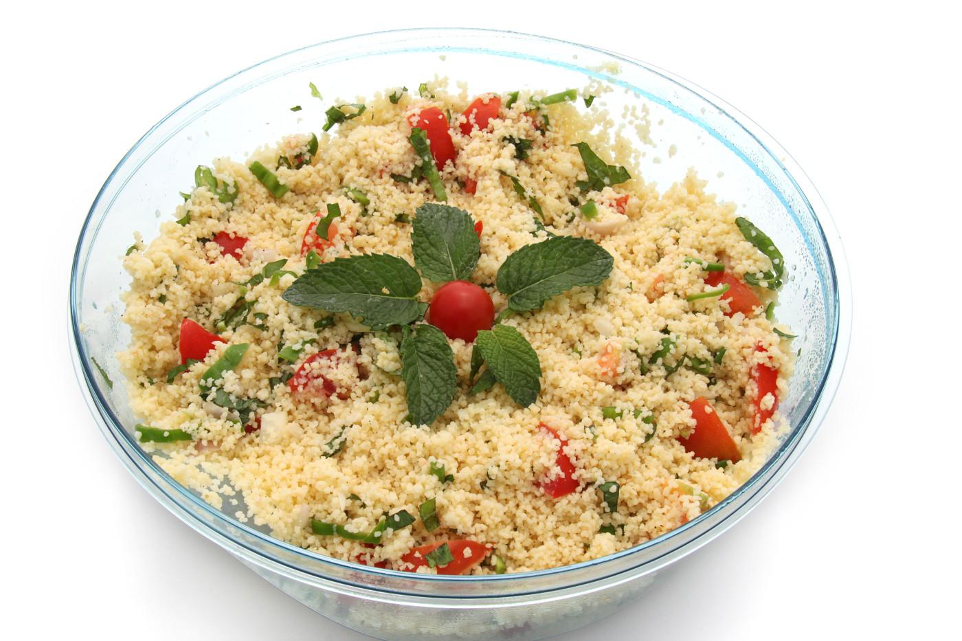 Ensalada Oriental De Quinoa Con Almendras