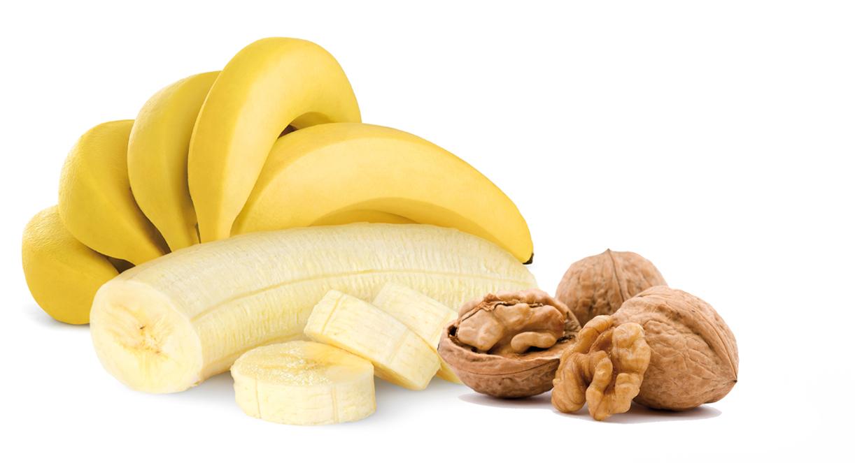 pan de plátano con nueces y canela