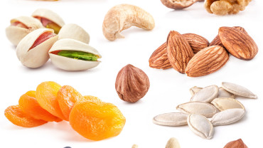 Frutos secos VS frutas secas