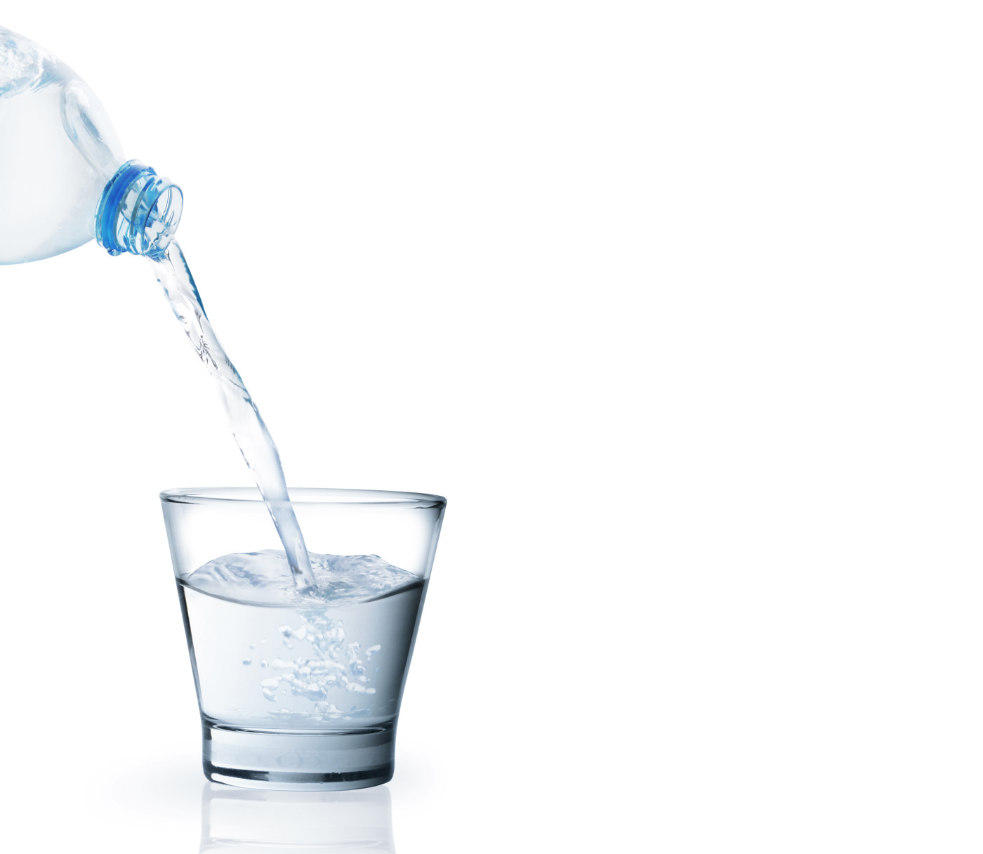 Engorda beber agua